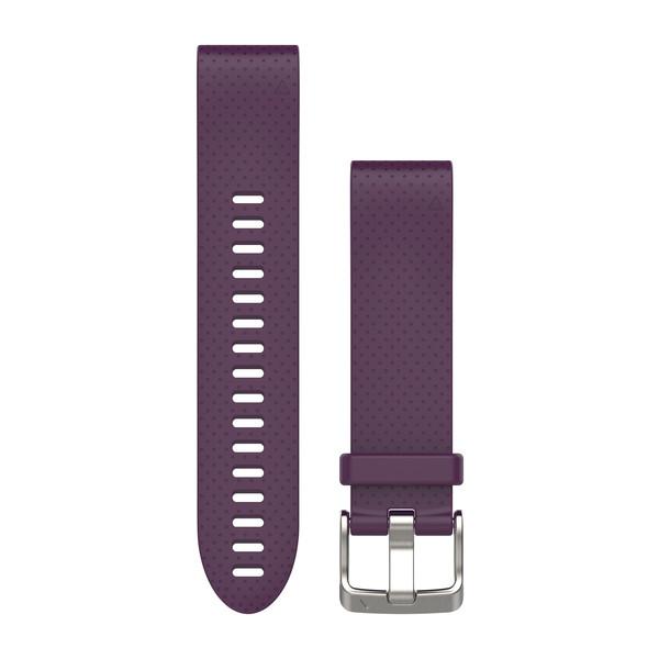 Ремешок для Fenix 5S Фиолетовый силикон QuickFit 20 от Garmin